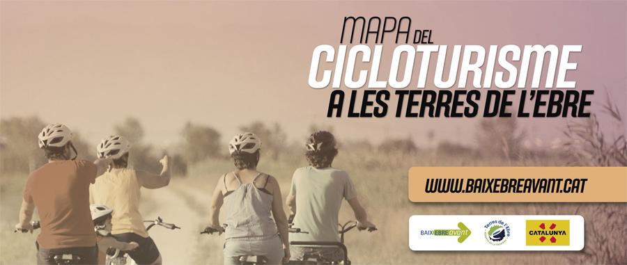 Mapa Cicloturisme
